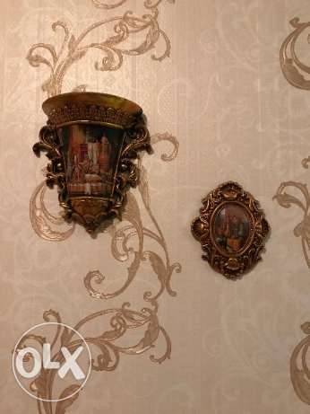 4 pieces for wall decorations - Doha city