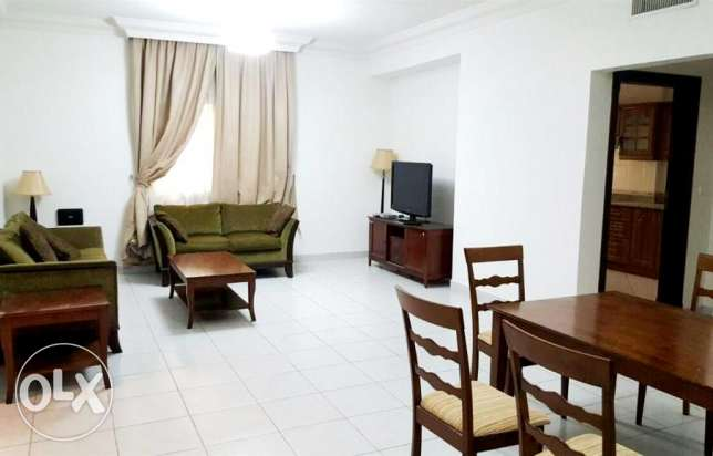 include w & e ..fully furnished 2 bhk apartment at bin omran