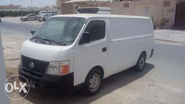 NISSAN URVAN 2012 HIGH ROOF freezer van (Rent)