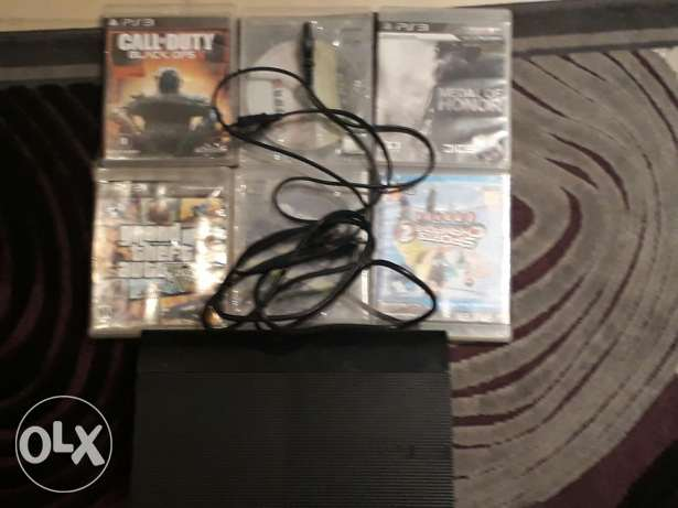 Ps3 500 gb with gta 5 one controller it is working but makes a sound
