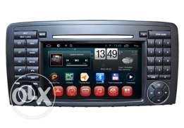 Mercedes Benz R Class Android Car Dvd GPS with 1080P HD Video Display