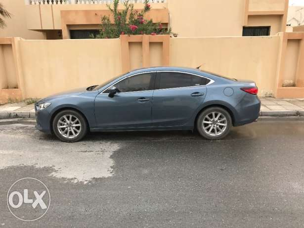 Mazda 6, 2016 model, 2.5L for sale - only 21k km