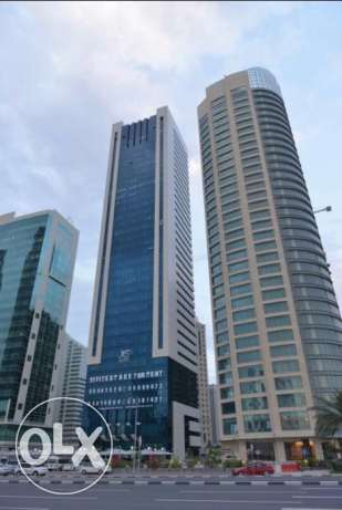 Office West Bay Fully Equipped office Space just for 7000 QAR