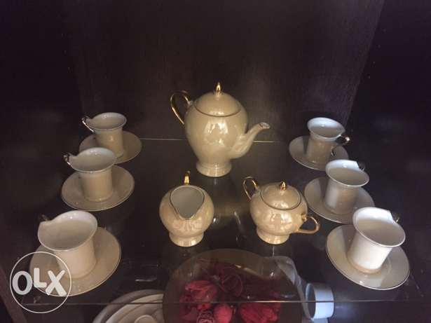handmade tea set السد -  1
