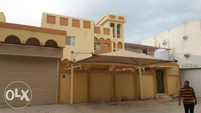 1BHK new villa family room in Old airport near habeeb. total 7 unit