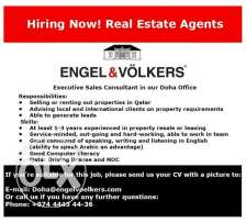 Wanted: Real Estate Sales & Leasing Agent !