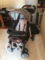 Mix stuff for sale ( electric range, pots, baby stroller, kids table.)