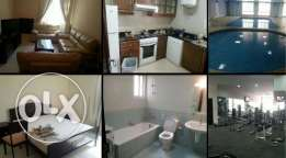 For Rent a Fully Furnished 1bhk Flat in Bin Mahmoud