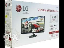 "New unused in original box LG 34"" Class UltraWide IPS Gaming Monitor"