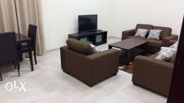 fully furnished 2 bhk flat in al Al Nasr, 7300 QR النصر -  1