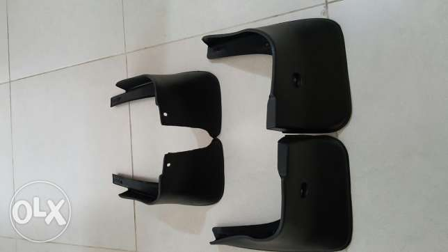 Xtrail mud guards