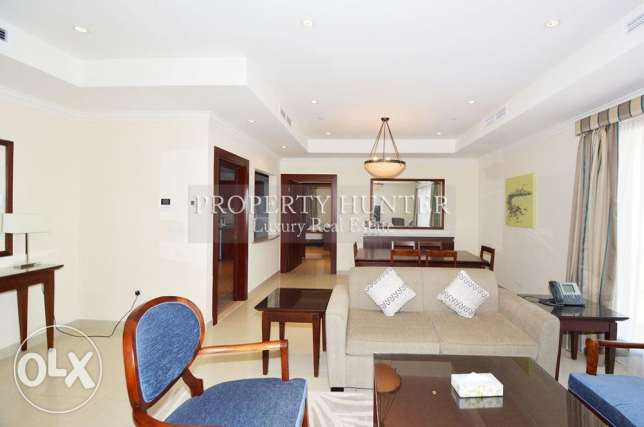 Sea view 2 bedrooms furnished residence
