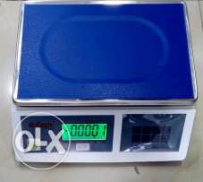 weighing scale (silver scale)