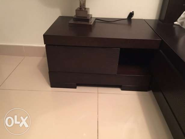 Bed, Side tables and Wardrobe الريان -  3