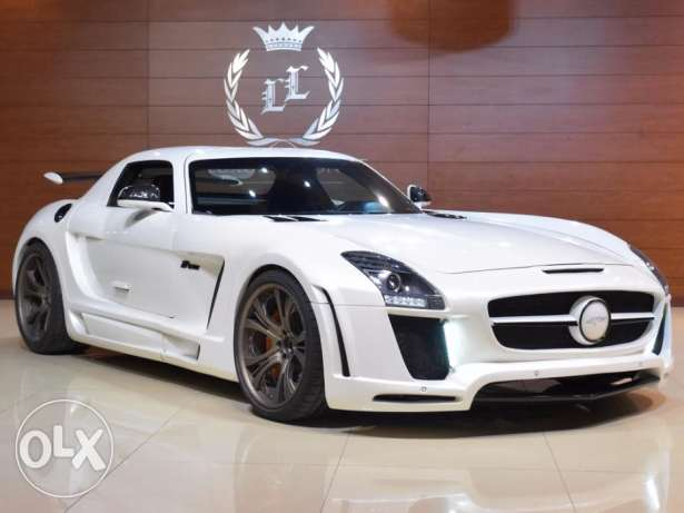 2012 Mercedes Benz SLS 63 AMG FAB Design , GCC Specs (Carbon Package)