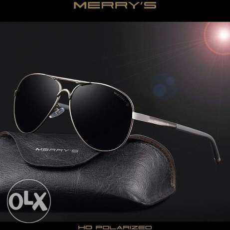 MERRY'S Men Classic Brand Sunglasses HD Polarized Aluminum Sunglasses