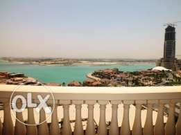 semi furnished 2 bedroom apartment for rent in pearl qatar