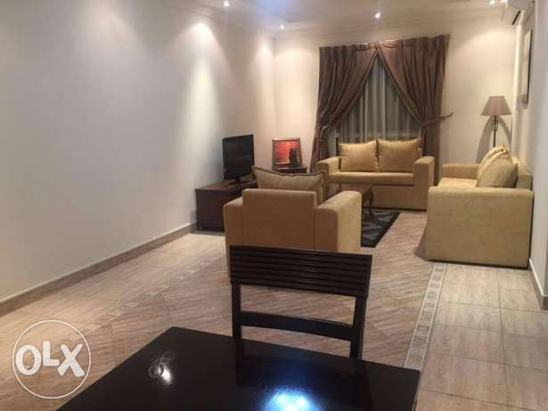 fully furnished 1 bhk flat in al sad included water and electricity in