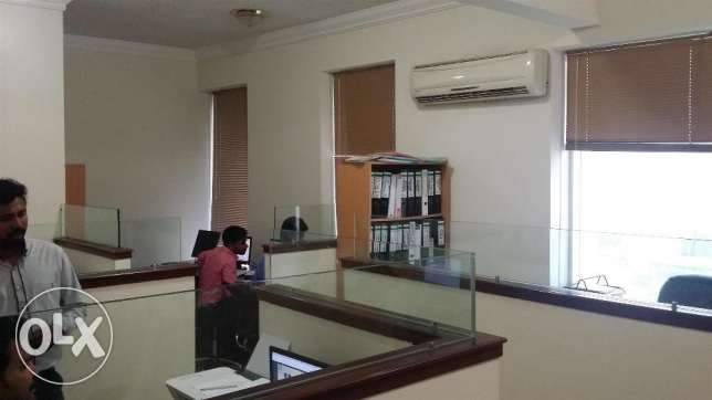 2 Room office for 8000 qr, good for 2 Trade Licenses
