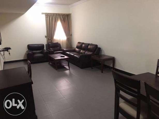 fully furnished 1 bhk flat included water and electricity 5500 QR