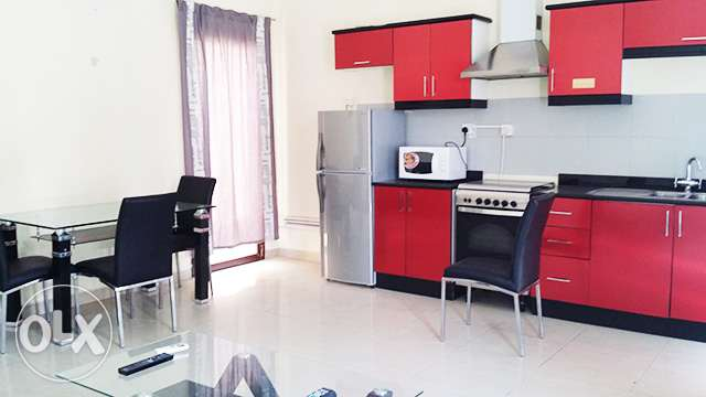 Fully-Furnished, 1-Bedroom Apartment in Muaither معيذر‎ -  4
