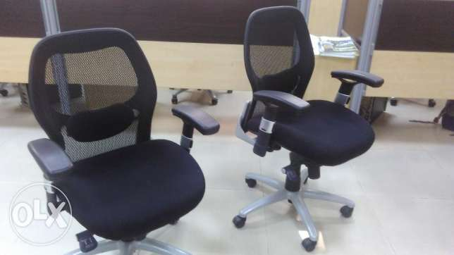 Office Furniture, chair, table, almirah, storage work stations