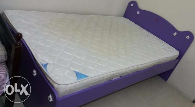 Two Children's beds with Mattresses for urgent sale