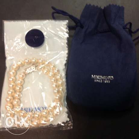 Best Offer For Mikimoto Pearl Necklace مطار الدوحة -  2