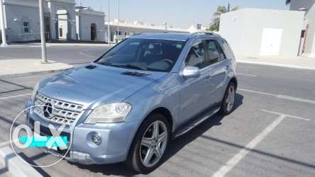 Mercedes ML350, AMG sports body styling, Lady driven 2009 النعيجة -  1