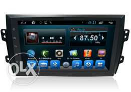 Suzuki SX4 Car Stereo Head Unit 2 Din Radio Player Android System