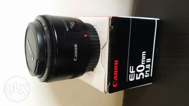 Canon EF 50mm f/1.8II Prime Lens