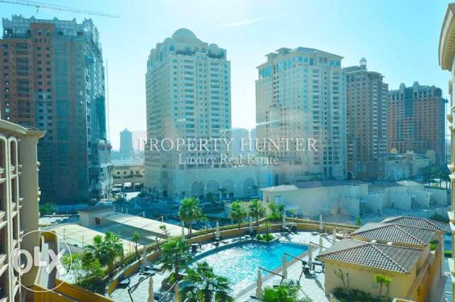 Studio with Pool Views + 2 Months Free + Qatar Cool