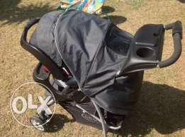 travel set Graco (stroller+car seat )