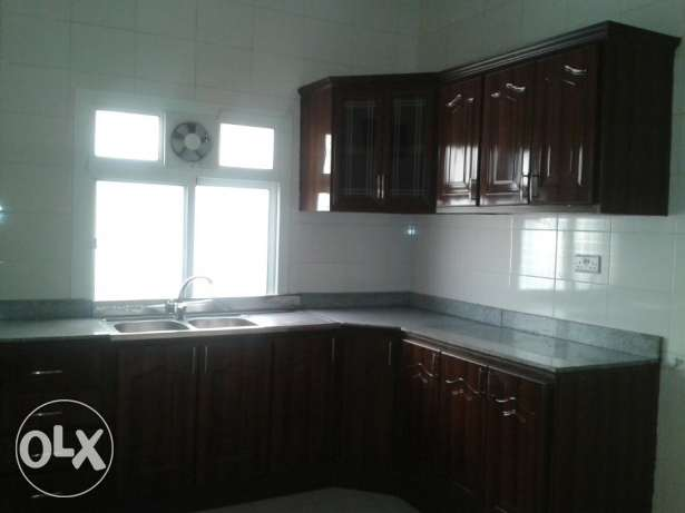 Spacious 3 bhk unfurnished apartment in Ain Khalid for family