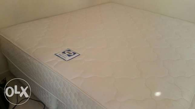 Sealy Premium Mattress King Size with bed frame