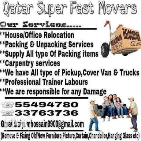 Moving/Shifting,carpentery Services