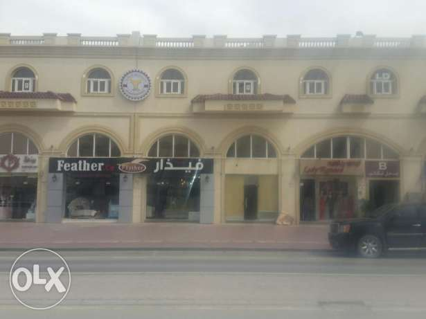 Available for rent Shop 100 meters in Muaither commercial street