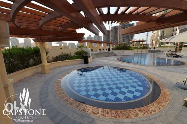 FREE FIRST MONTH: 1BR, 2BR, 3BR Apartment at The Pearl - CALL NOW! الؤلؤة -قطر -  2