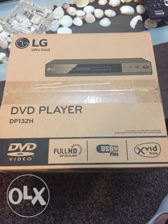 LG brand new DVD player