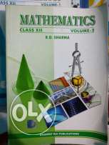 Rd Sharma Class XII guides for sale part 1 and 2 included