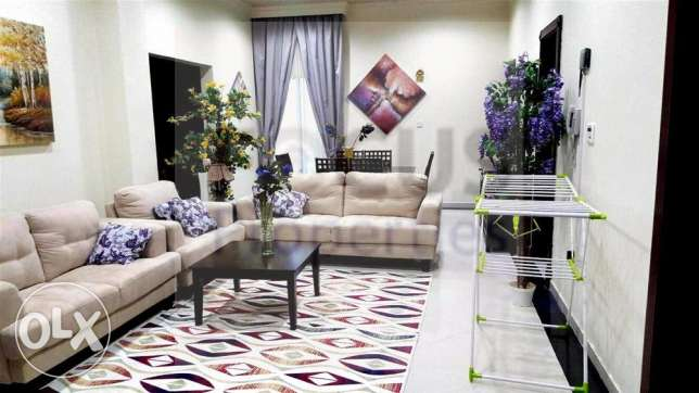 Fully Furnished 1 BHK Apartmnet including w,e,interenet at Wakrah