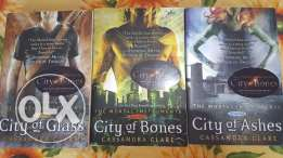The Mortal instruments series [first 3]