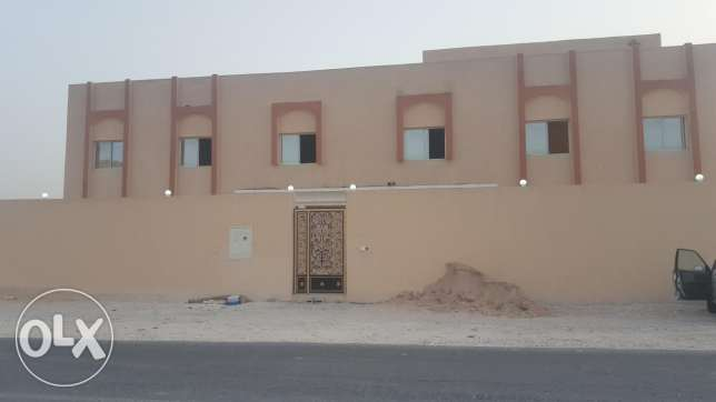 Brand new semi commercial villa for rent in thumama