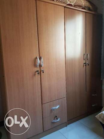 2 double door cupboards for sale