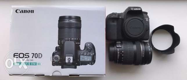 Canon EOS 70D DSLR Camera New
