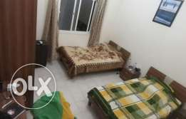Fully Furnished Room with Bathroom at Al Saad