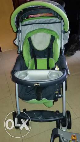 chicco stroller and baby car chair for sale