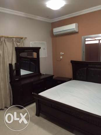 for rent furnished studio behind Al Gharafa health center