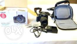 Canon eos 700d barely used for sale with bag and box and 18-135 lense