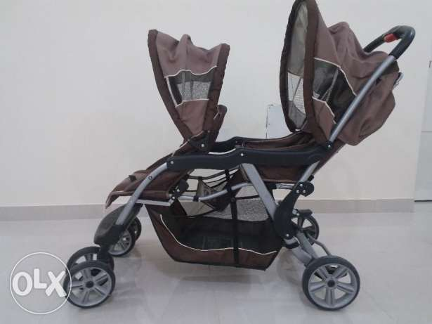 Baby stroller 2 seater